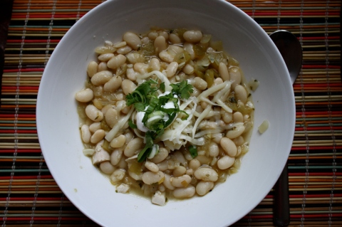 White Chili - Sweet and Savory Kitchens