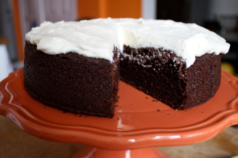 Sweet and Savory Kitchens Chocolate Guinness Cake