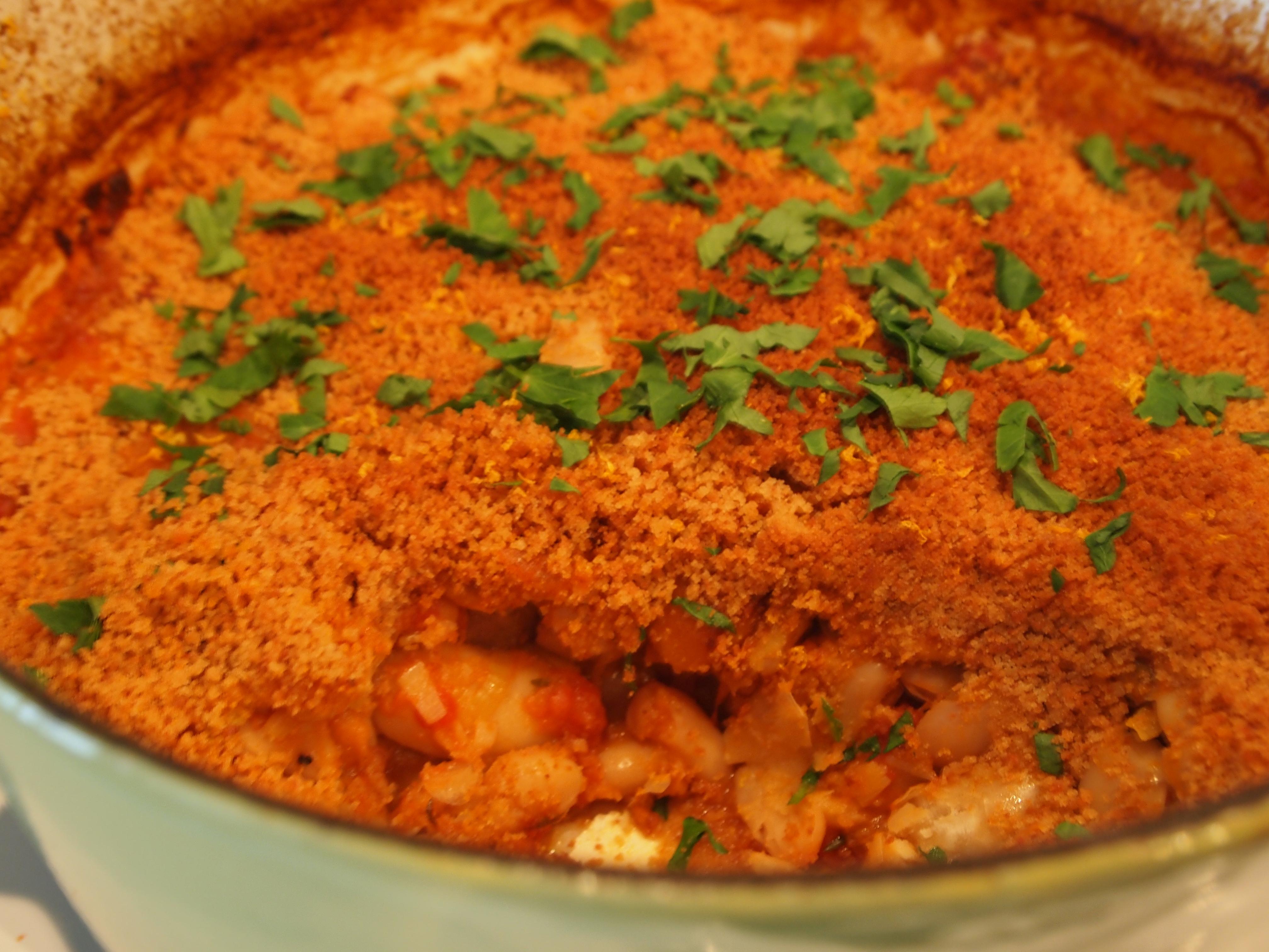 Chorizo And Gigante Bean Cassoulet Recipe — Dishmaps