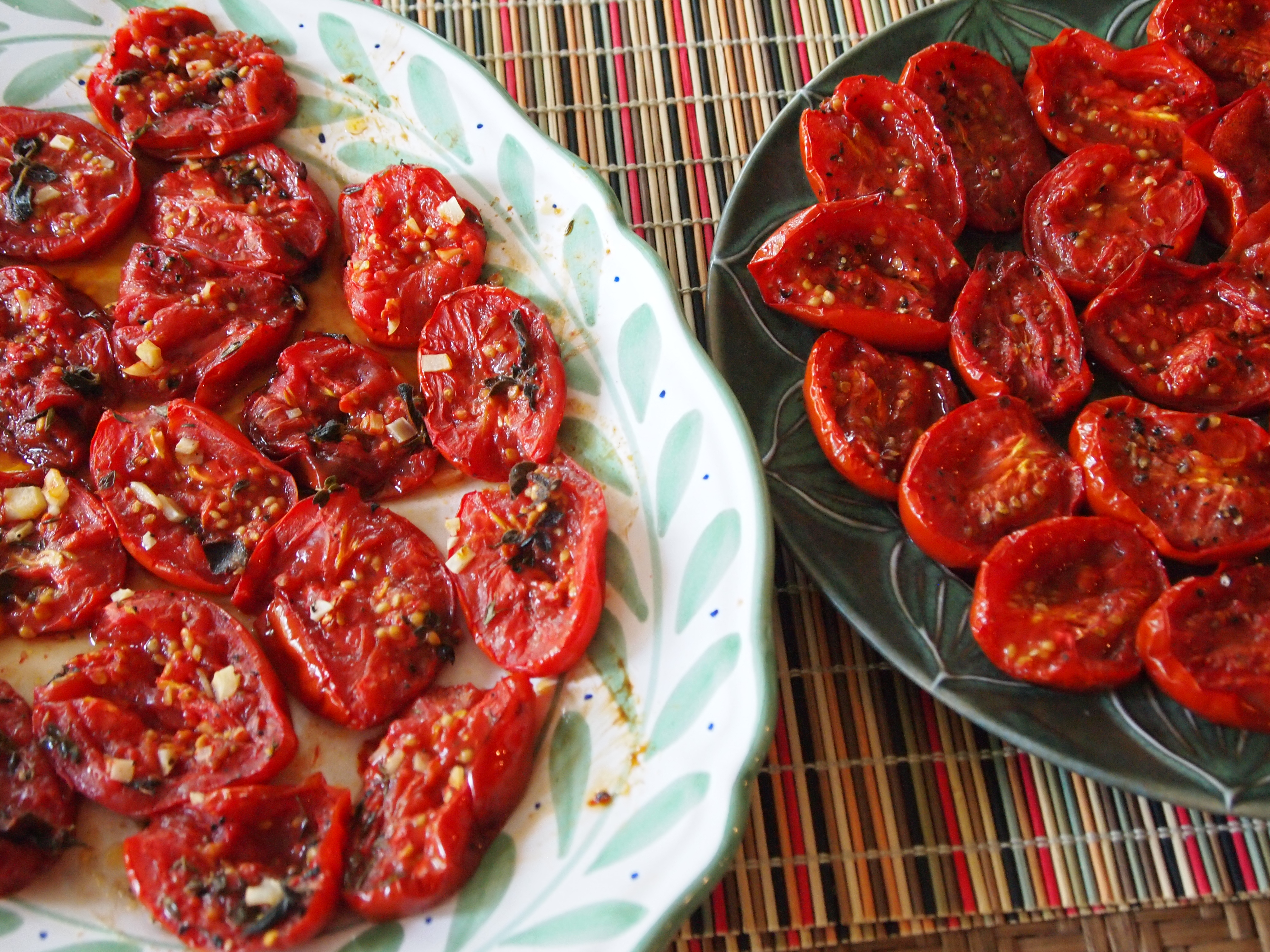 Oven Roasted Tomatoes | Sweet & Savory Kitchens