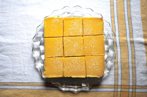 Sweet and Savory Kitchens Meyer Lemon Bars