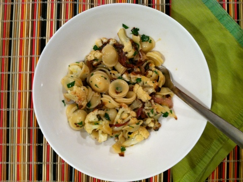 Roasted Cauliflower Pasta - Sweet and Savory Kitchens