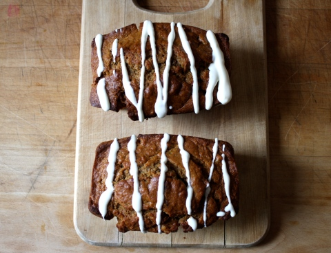 Whole Wheat Sweet Potato BananaBread by Sweet and Savory Kitchens