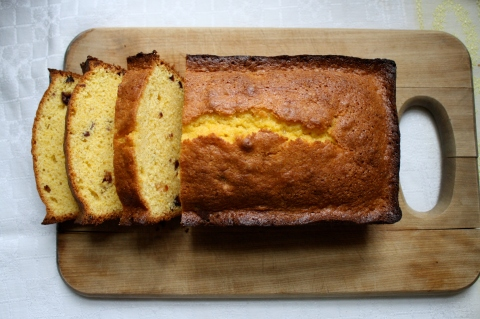 Corn Meal Pound Cake - Sweet and Savory Kitchens