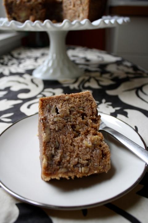 Caramel Apple Cake - Sweet and Savory Kitchens