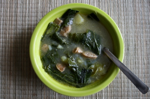 Caldo Verde - Sweet and Savory Kitchens