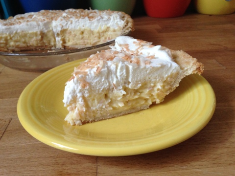 Coconut Cream Pie - Sweet and Savory Kitchens