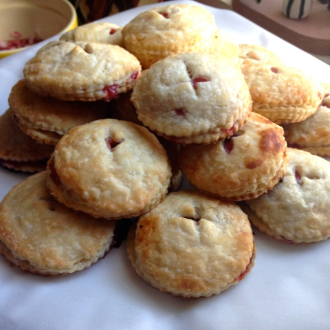 sour cherry hand pies - sweet & savory kitchens