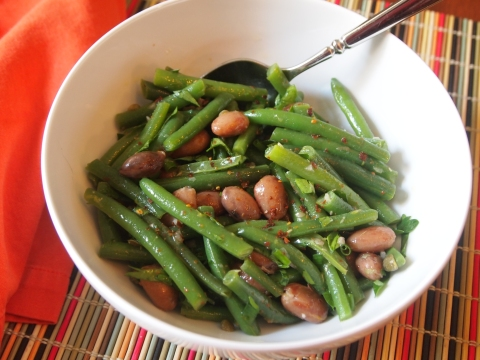 3-Bean Salad - a modern take