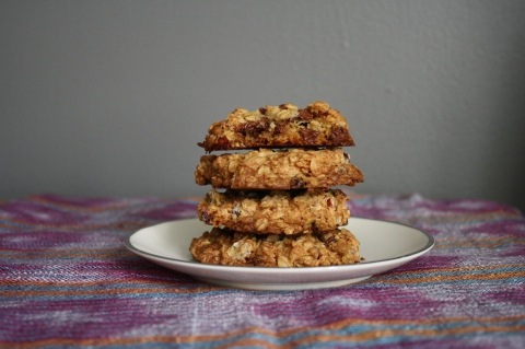 Oatmeal Coconut Chocolate Chip Cookies - Sweet & Savory Kitchens