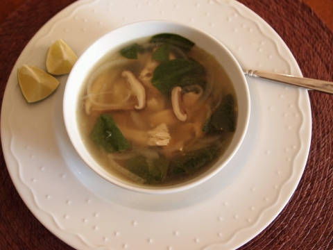 Ginger-Spiced Chicken Soup