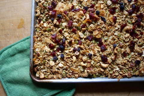 Holiday Granola - Sweet & Savory Kitchens