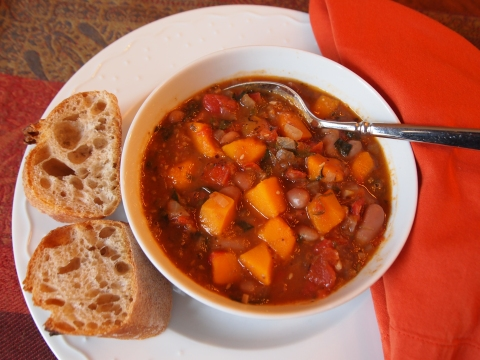 Zesty Winter Squash Soup