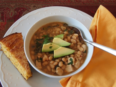 chicken white bean chili